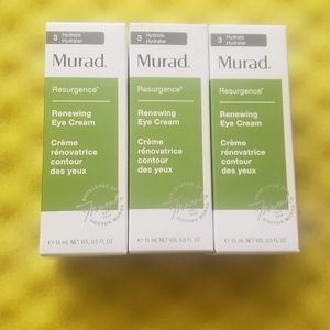 3 Murad renewing eye cream